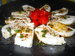 Day 4: My favorite food, Caprese Salad.