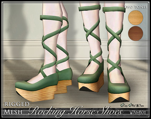Rocking Horse Shoes (Sage)