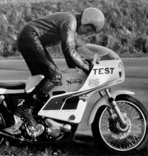 Norton kickstarting