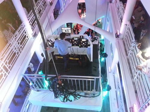 Floating DJ by Lisa's Random Photos