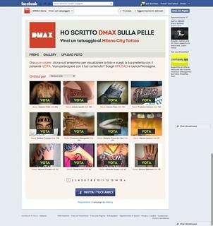Concorso Facebook DMAX