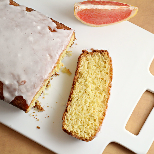 Grapefruit Olive Oil Pound Cake | Joanne Eats Well With Others