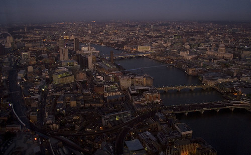 Early morning over London