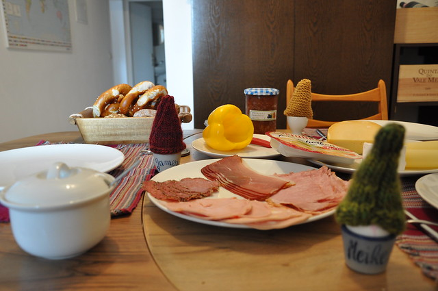 Breakfast time - German style!