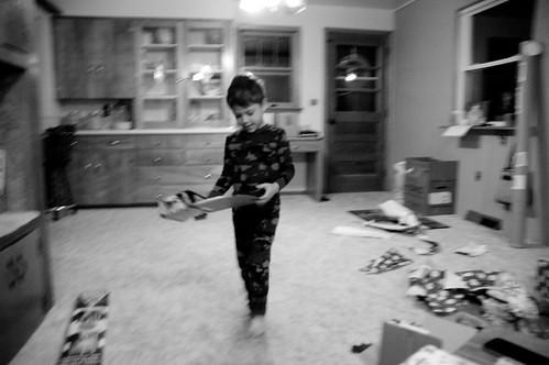 Christmas 2012 morning at home