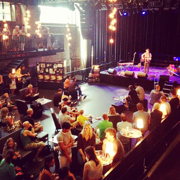 Sunday afternoon @Bris_Powerhouse are always full of great indie musicians. #brisbane #music