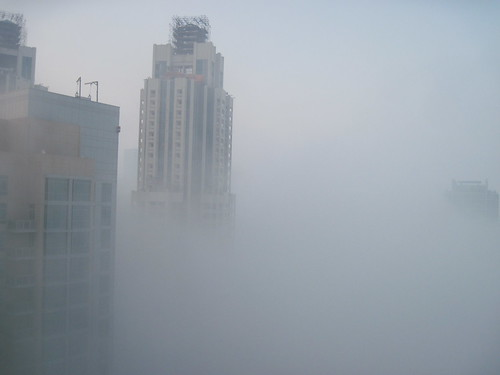 Foggy Morning Dubai