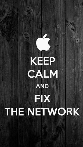 Keep calm and fix the network by Davide Restivo