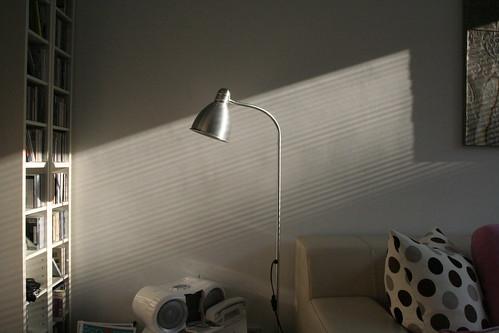 detail livingroom with sun (!!)