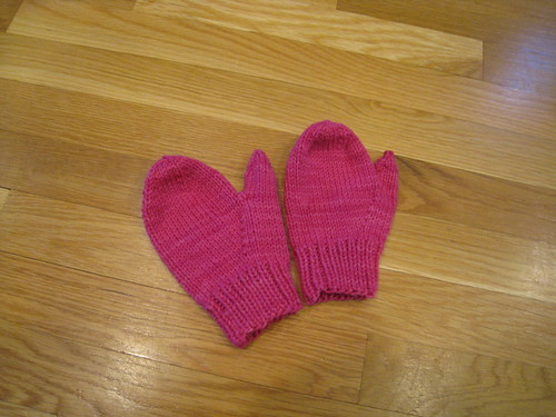 Pink Mittens!