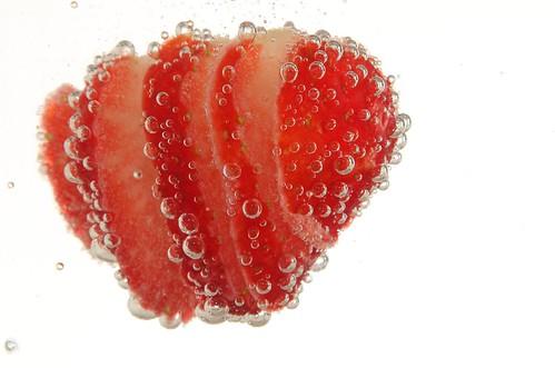 • Strawberry Layer Drink •