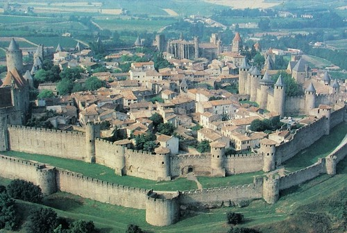 the citadel at Carcassone, a precursor/model for The Citadel in Idaho (via media center, The Citadel)
