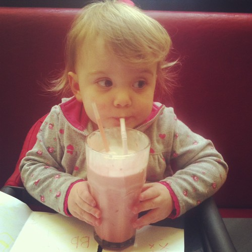 EBD 25 months milkshake
