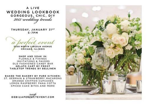 Live Wedding Lookbook - tomorrow night!