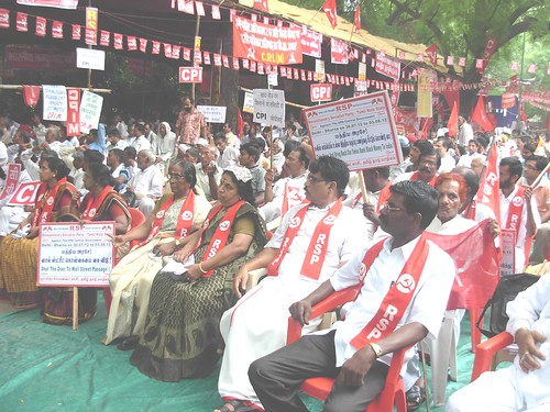 RSP Revolutionary Socialist Party, CPI, CPI(M), AIFB Left Parties Dharna at Delhi Jantar Mandhir on 30.07.2012 to 03.08.2012 Tamilnadu State Secretary Photos  (31) by Dr.A.Ravindranathkennedy M.D(Acu)