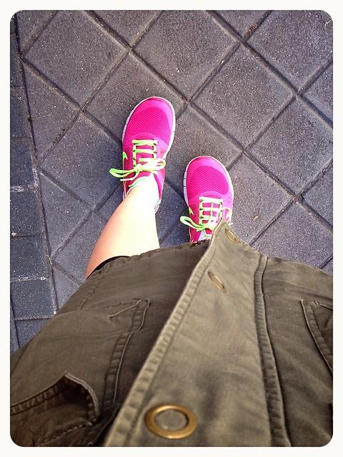 Nike free run 3 rosa