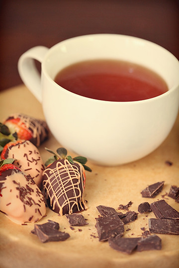 Chocolate Strawberry Tea w