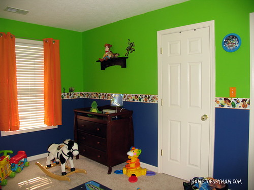 toy story room painting ideas