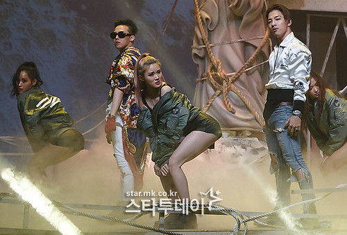 Big Bang - Mnet M!Countdown - 07may2015 - Star MK - 02