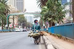#nainiwho  The street sweeper.   #igkenya #vscokenya #igersnairobi #nairobi #african #african_portraits #picoftheday #working #work #street #architecture #city #cities #cityscape