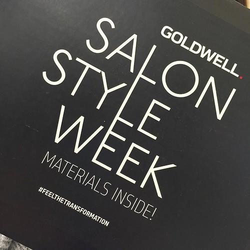 Getting ready for salon week @ryanpatricksalon #goldwellsalonstyleweek #RyanPatrickSalon #Choose901 #ErinDrive #MemphisSalon
