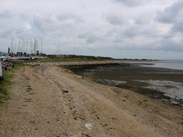 The coast near Netley