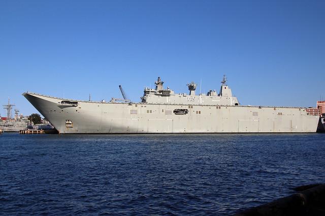 HMAS Canberra (L02) Royal Australian Navy