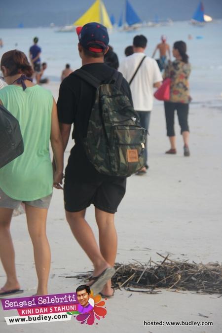 Mizz Nina & Noh Hujan Boracay Island