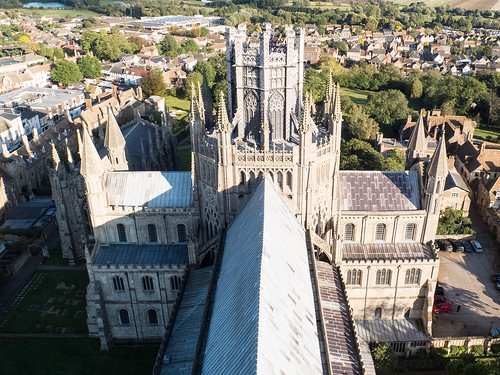 Ely Cathedral from the West Tower