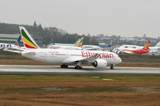 Ethiopian Airlines Boeing 787-8 ET-AOS