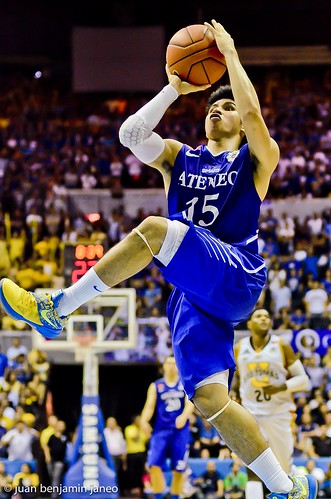 UAAP Season 75 Finals Game 2: Ateneo Blue Eagles vs. UST Growling Tigers, Oct. 11