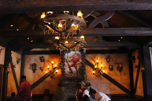 Gaston's Tavern in New Fantasyland