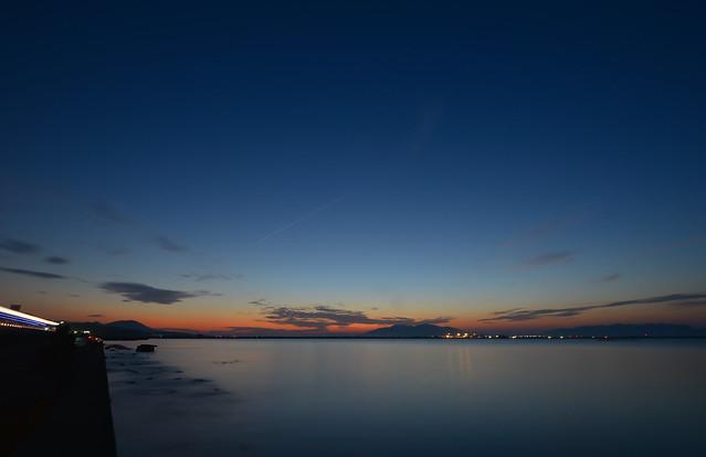 Sunset over Lake Shinji [Long Exposure of Nikon D600] | Flickr - Photo ... Longexposure