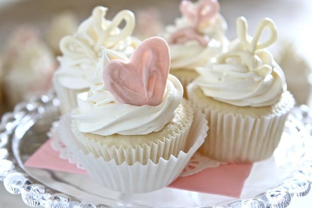 White Cupcakes 003