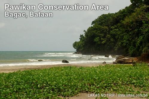 Beach inside Montemar Beach Resort in Bagac, Bataan