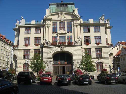 Prague New City Hall, Czech Republic