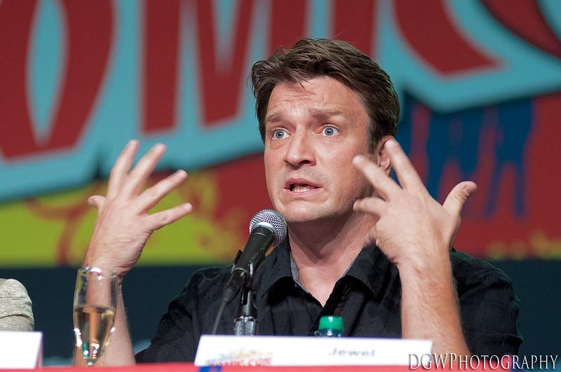 NY ComicCon 2012 - Nathan Fillion