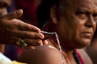 Tarpan : offering of water to the deceased