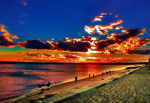 Merrimac Sunset by Rusty Russ