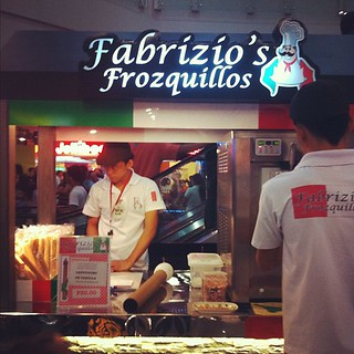 Cappuccino or vanilla swirl with your barquillos? At Megamall.