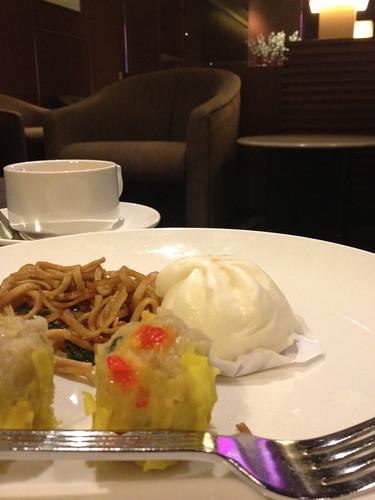 シンガポールのラウンジ食