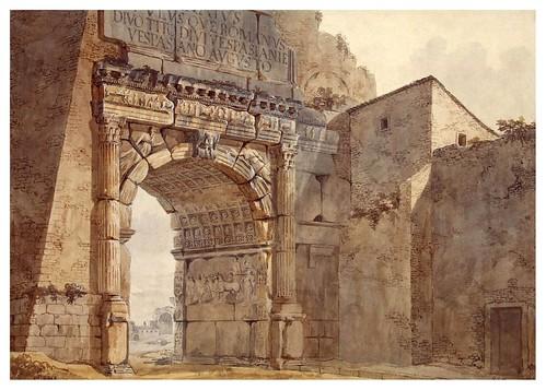 015-Arco de Tito en Roma- Charles-Louis Clérisseau- State Museum Hermitage