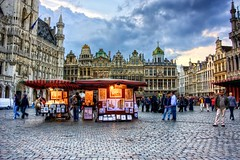 The heart of Brussels