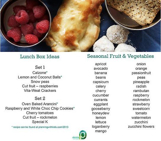 dec lunch box ideas