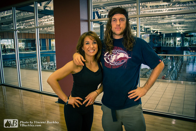 Fitness Expert Faith Dey and Vincent Buckley