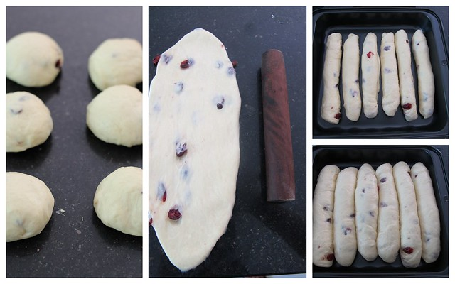 craberries cream cheese bread