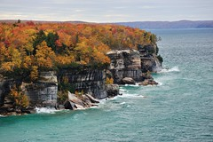 Autumn at Pictured Rocks National Lakeshore by Michigan Nut