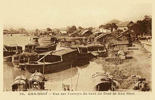 KHA-NHOÎ - Vue sur l'arroyo du haut du pont