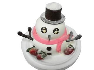 生日蛋糕 雪人