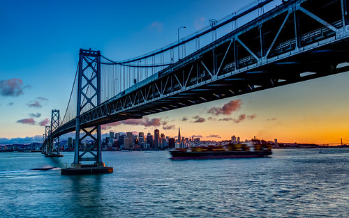 pictures sf sanfrancisco california ca city longexposure travel sunset color beautiful skyline architecture clouds canon buildings landscape photography cityscape treasureisland view scenic best baybridge 2012 yerbabuenaisland sacape tobyharriman